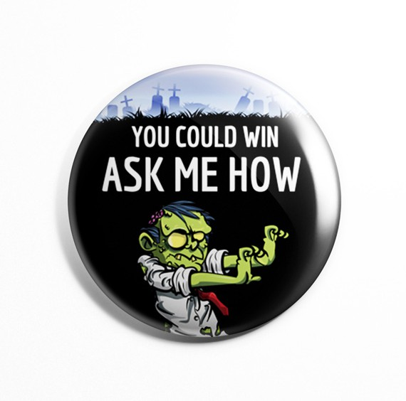 Mac's Zombie Game Pin