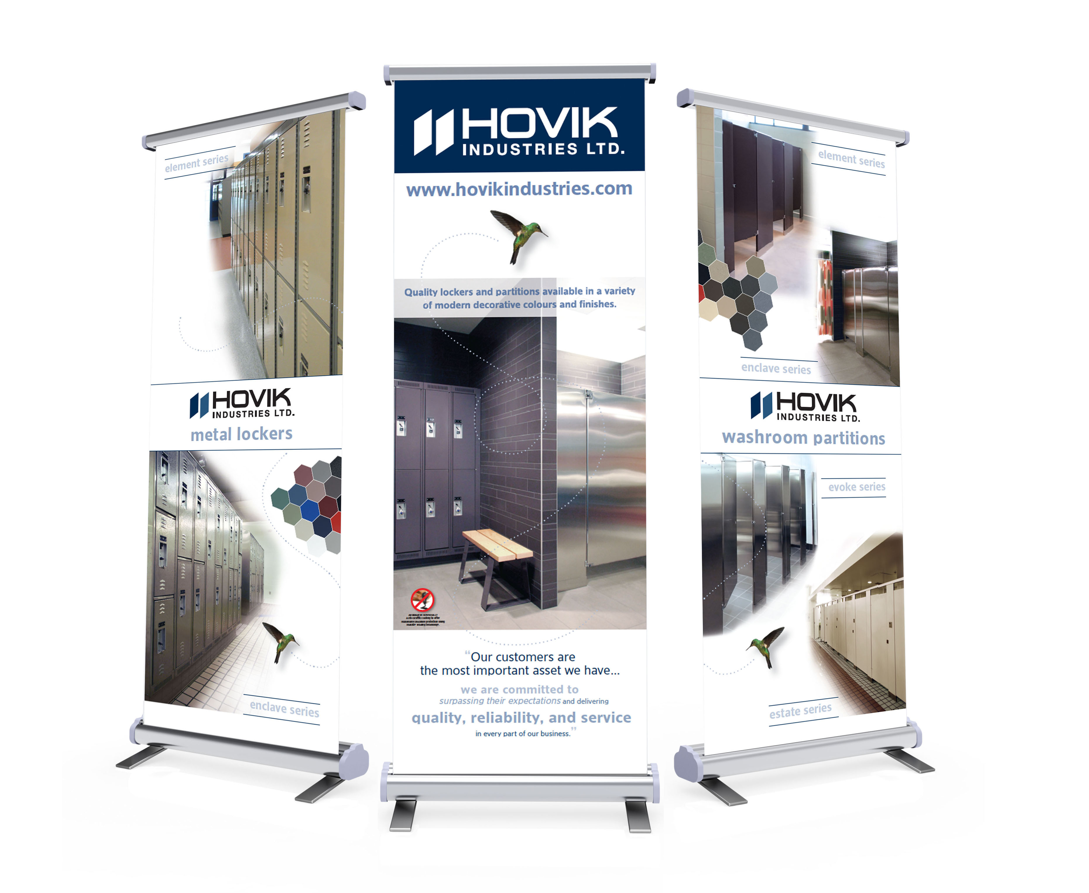 Hovik Tradeshow Pull-Up Banners
